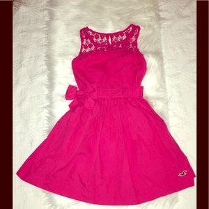 Hollister Hot Pink dress size xs NWT